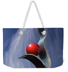 Weekender Tote Bag featuring the photograph Freeform Isolation by Christopher McKenzie