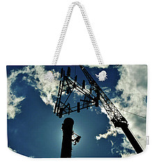 Weekender Tote Bag featuring the photograph Freeland by Robert Geary