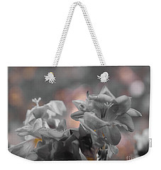 Freesia'a Without Colour Weekender Tote Bag