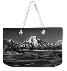 Freeze-up Weekender Tote Bag