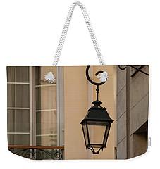 French Alley Lantern Weekender Tote Bag