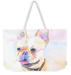 French Bulldog Watercolor Weekender Tote Bag