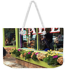 French Cafe Weekender Tote Bag