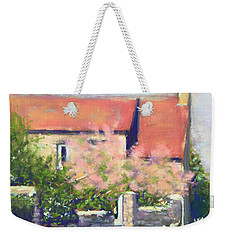 French Cottage Weekender Tote Bag by Rebecca Matthews