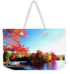 French Creek Fall 020 Weekender Tote Bag