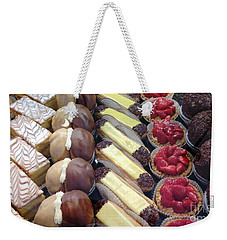 Weekender Tote Bag featuring the photograph French Delights by Therese Alcorn