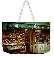 French Groceries Weekender Tote Bag