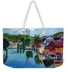 French Harbor Isla De Roatan Weekender Tote Bag