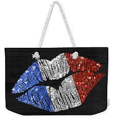 French Kiss Weekender Tote Bag