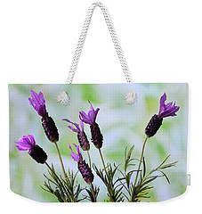 French Lavender Weekender Tote Bag by Terence Davis