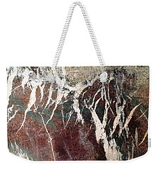 Weekender Tote Bag featuring the photograph French Marble by Therese Alcorn