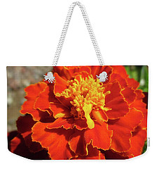 French Marigold Weekender Tote Bag by Martin Howard