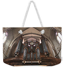 Weekender Tote Bag featuring the photograph French Organ by Christin Brodie