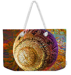 Weekender Tote Bag featuring the painting French Ornamental  by Robin Moline