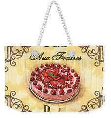 French Pastry 1 Weekender Tote Bag