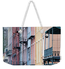 French Quarter Colors Weekender Tote Bag