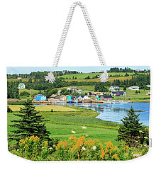 French River, P.e.i. Weekender Tote Bag