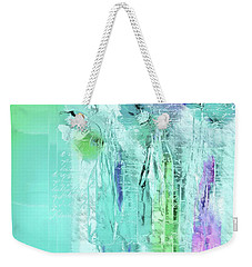 Weekender Tote Bag featuring the digital art French Still Life - 14b by Variance Collections