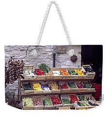 French Vegetable Stand Weekender Tote Bag