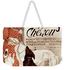 Weekender Tote Bag featuring the photograph French Veterinary Clinic by Granger