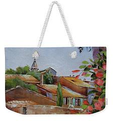 French Village Weekender Tote Bag