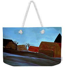 French Winter Weekender Tote Bag