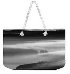 Frenchman's Bay Recursion Weekender Tote Bag