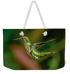 Frequent Flyer 2, Mindo Cloud Forest, Ecuador Weekender Tote Bag by Venetia Featherstone-Witty