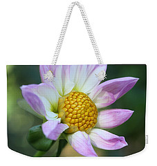 Fresh As A Dahlia Weekender Tote Bag by Connie Handscomb