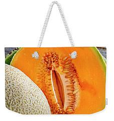 Fresh Cantaloupe Melon Weekender Tote Bag