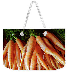 Fresh Carrots From The Summer Garden Weekender Tote Bag by GoodMood Art