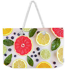 Fresh Citrus Fruits Weekender Tote Bag