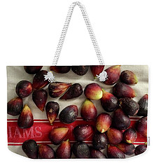 Fresh Figs Weekender Tote Bag by Kim Nelson