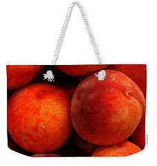 Fresh Fuzzy Peaches Weekender Tote Bag by Ian  MacDonald