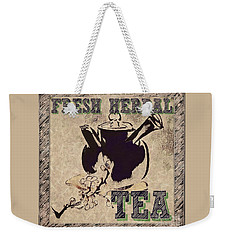 Fresh Herbal Tea Weekender Tote Bag