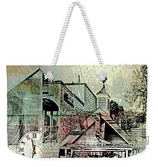 Weekender Tote Bag featuring the photograph Fresh Seafood by Susan Stone