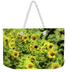 Fresh Sunflowers Weekender Tote Bag