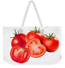 Fresh Tomatoes Weekender Tote Bag by Gabriella Weninger - David