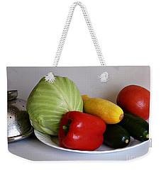 Fresh Vegetables 2 Weekender Tote Bag