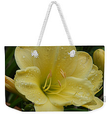 Fresh Yellow Weekender Tote Bag