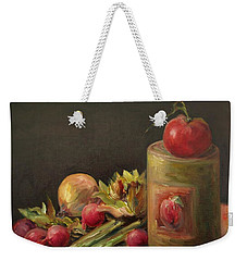 Freshly Picked Weekender Tote Bag by Mary Wolf