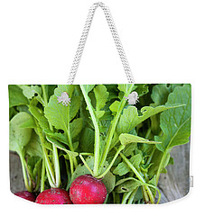 Weekender Tote Bag featuring the photograph Freshly Picked Radishes by Elena Elisseeva