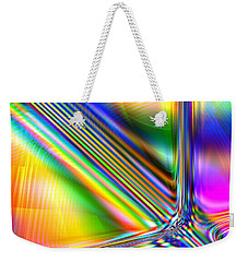 Weekender Tote Bag featuring the digital art Freshly Squeezed by Andreas Thust