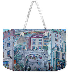Fresque Des Quebecois Weekender Tote Bag