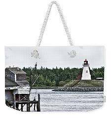 Friar's Head Lighthouse Weekender Tote Bag