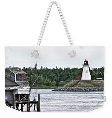 Friar's Head Lighthouse Weekender Tote Bag