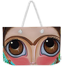 Frida And The Watermelon Weekender Tote Bag