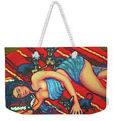Frida Kahlo - Dreaming Of Diego Weekender Tote Bag