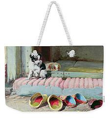 Friend Or Foe Weekender Tote Bag