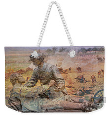 Friend To Friend Monument Gettysburg Battlefield Weekender Tote Bag